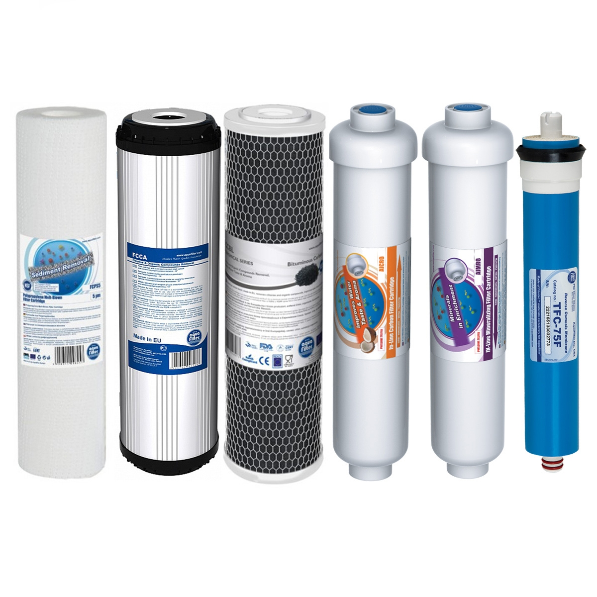 replacement filters 6 stage