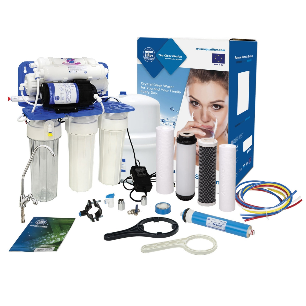 6 Stage Reverse Osmosis Water Filtration System RP65139715